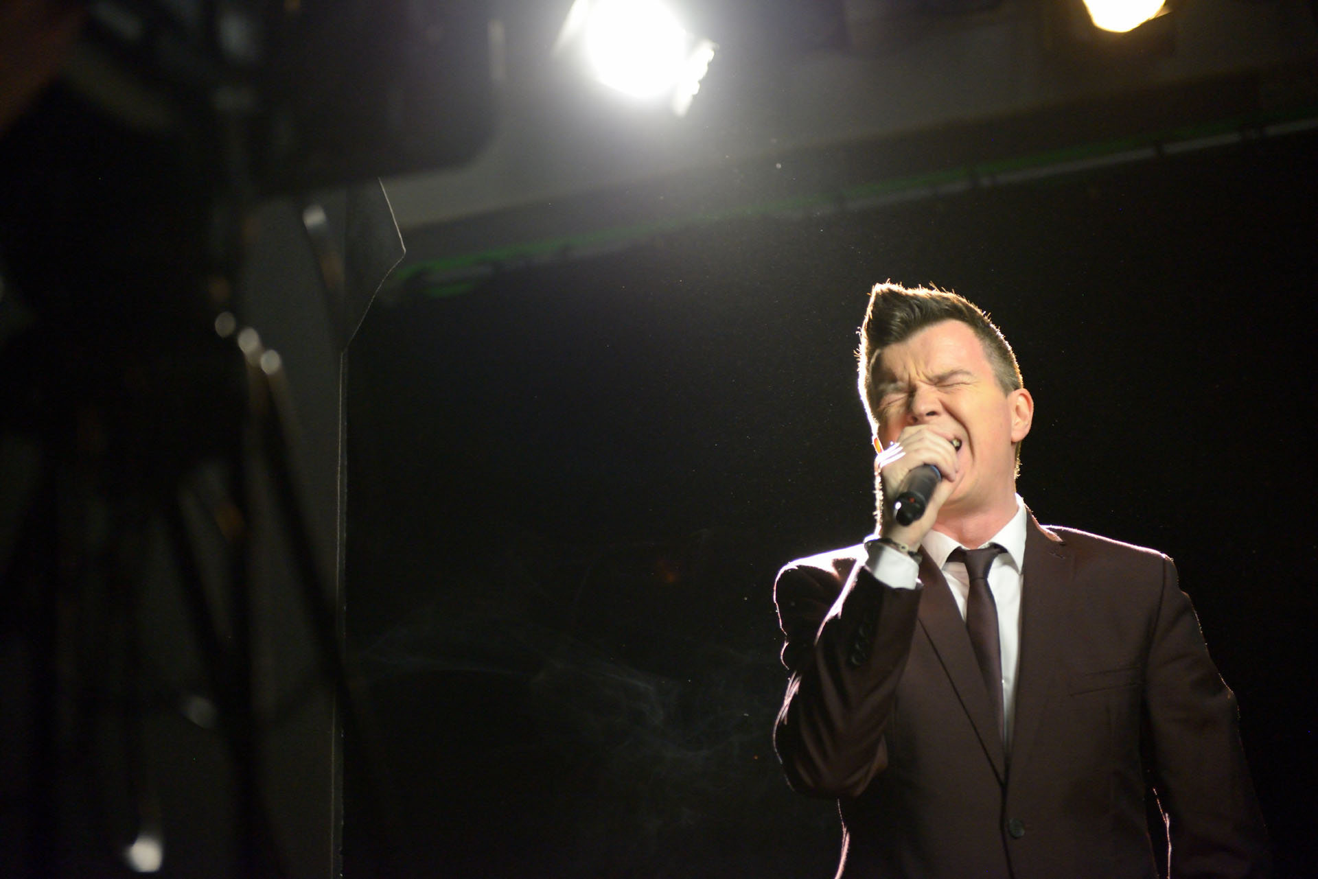 Rick Astley - Keep Singing Video Close Ups